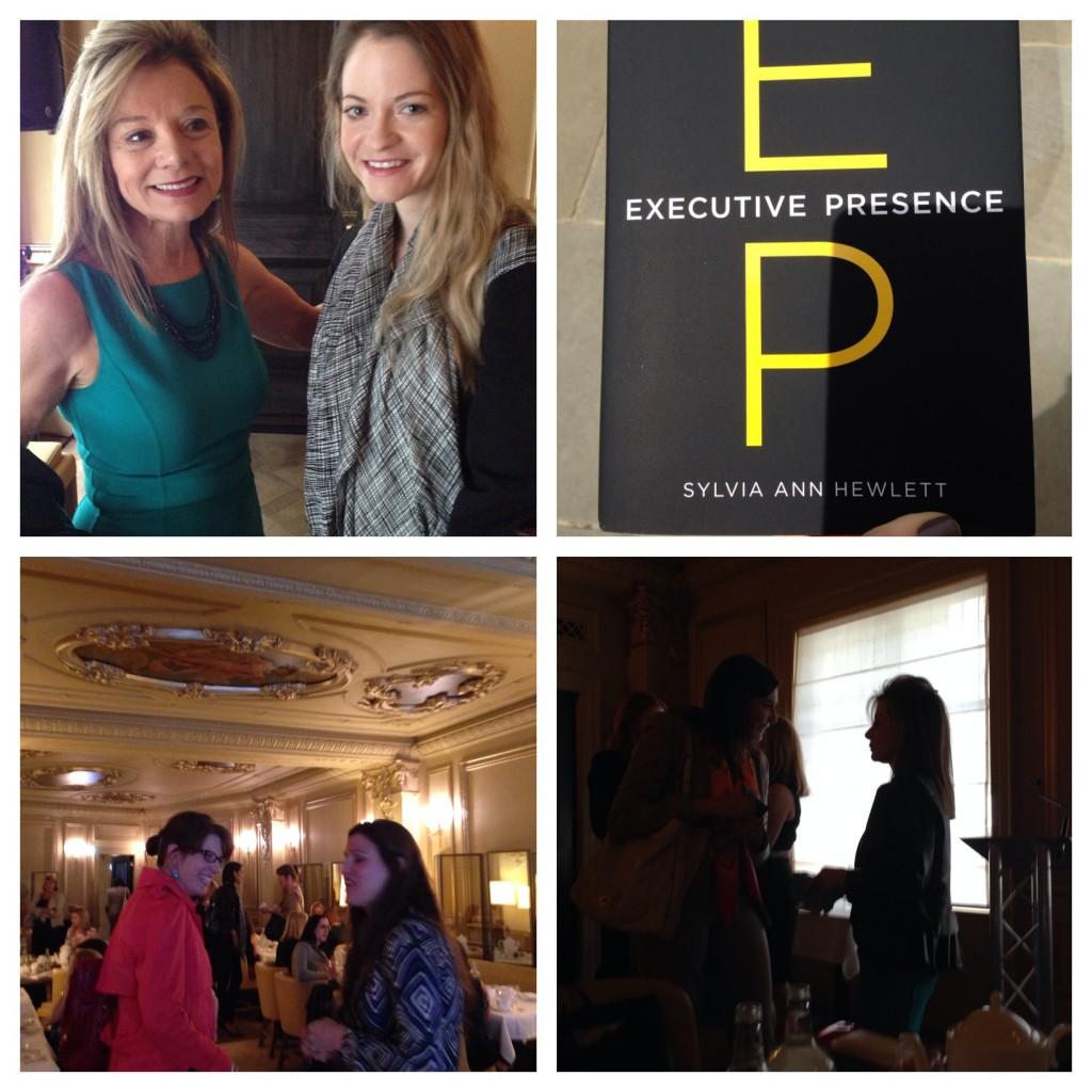 Harper's Bazaar Talk with Executive Presence Author Sylvia Ann Hewlett