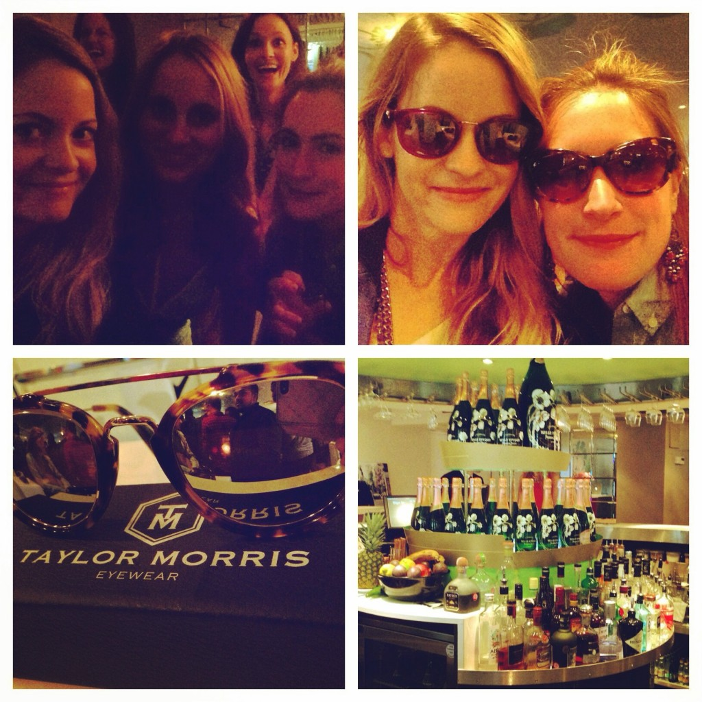 Taylor Morris Eyewear Launch at Harvey Nichols
