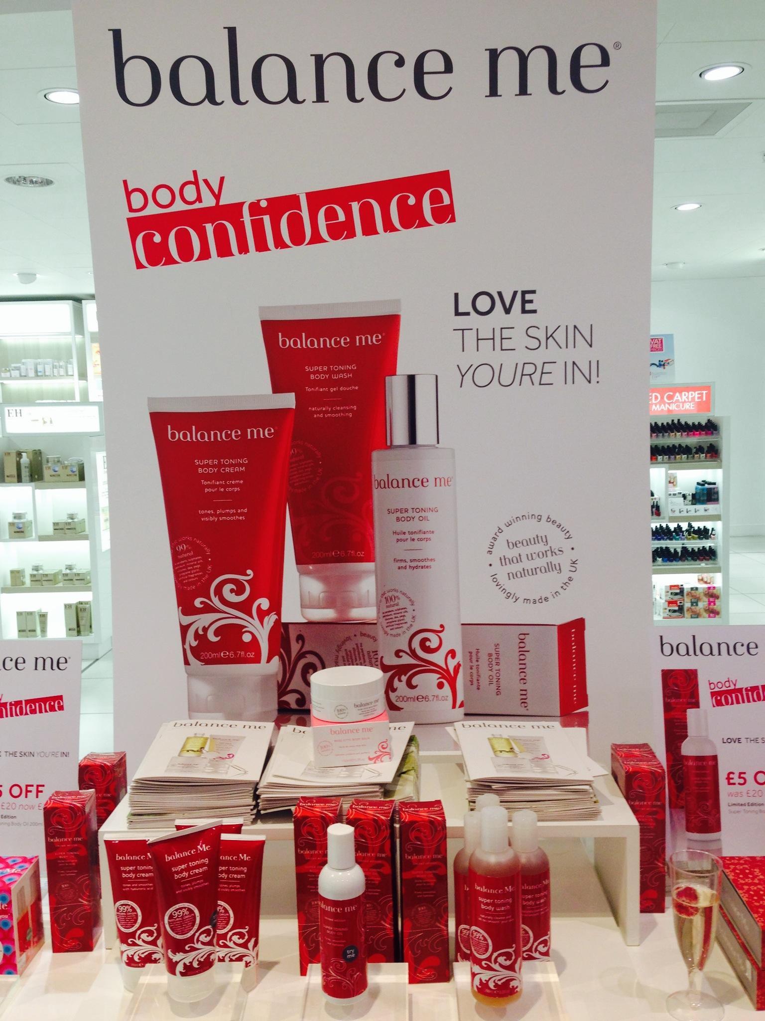Balance Me Beauty #BodyConfidence Event