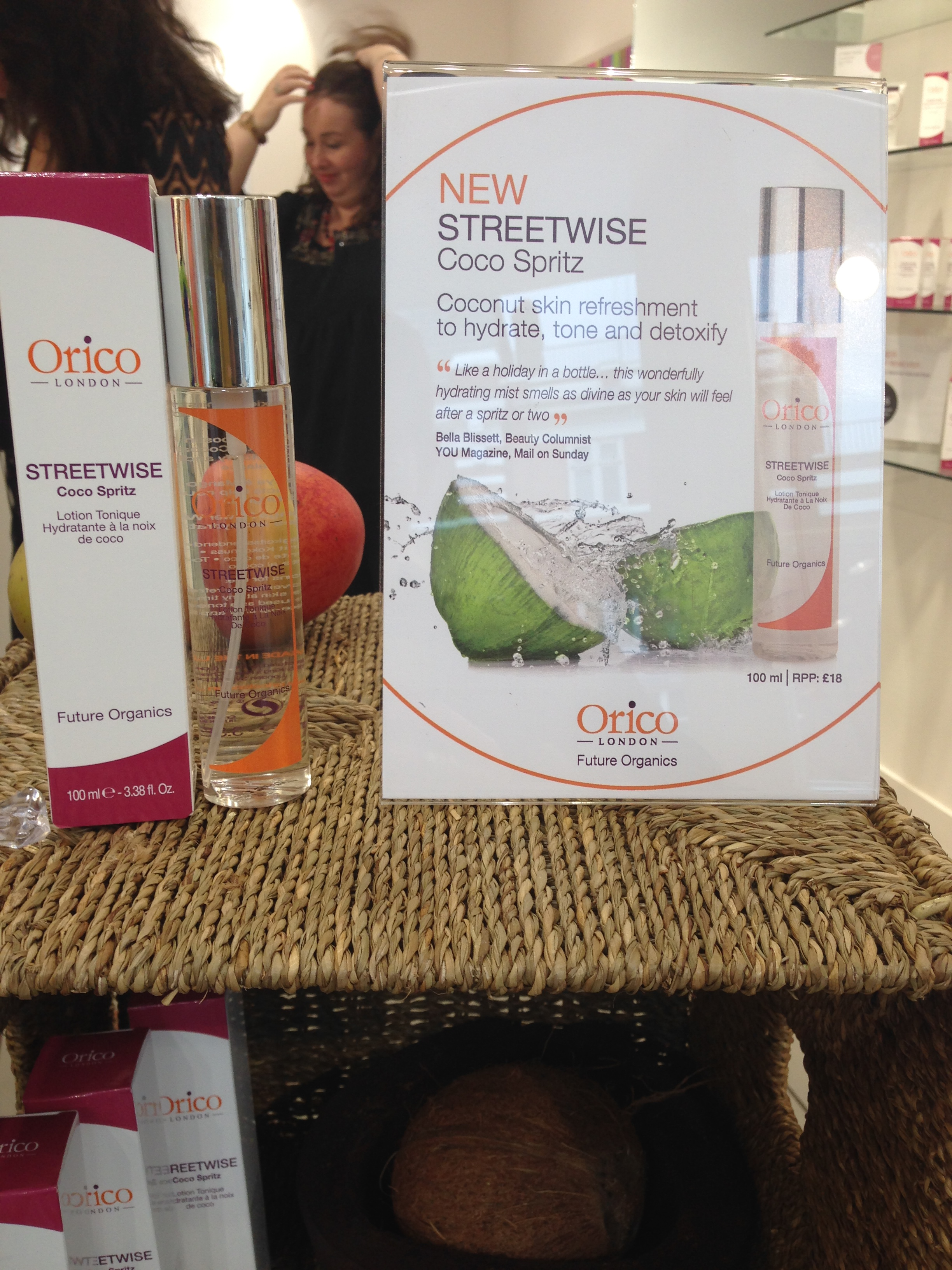 A (Relatively) New Organic Kid On The Block: Orico London