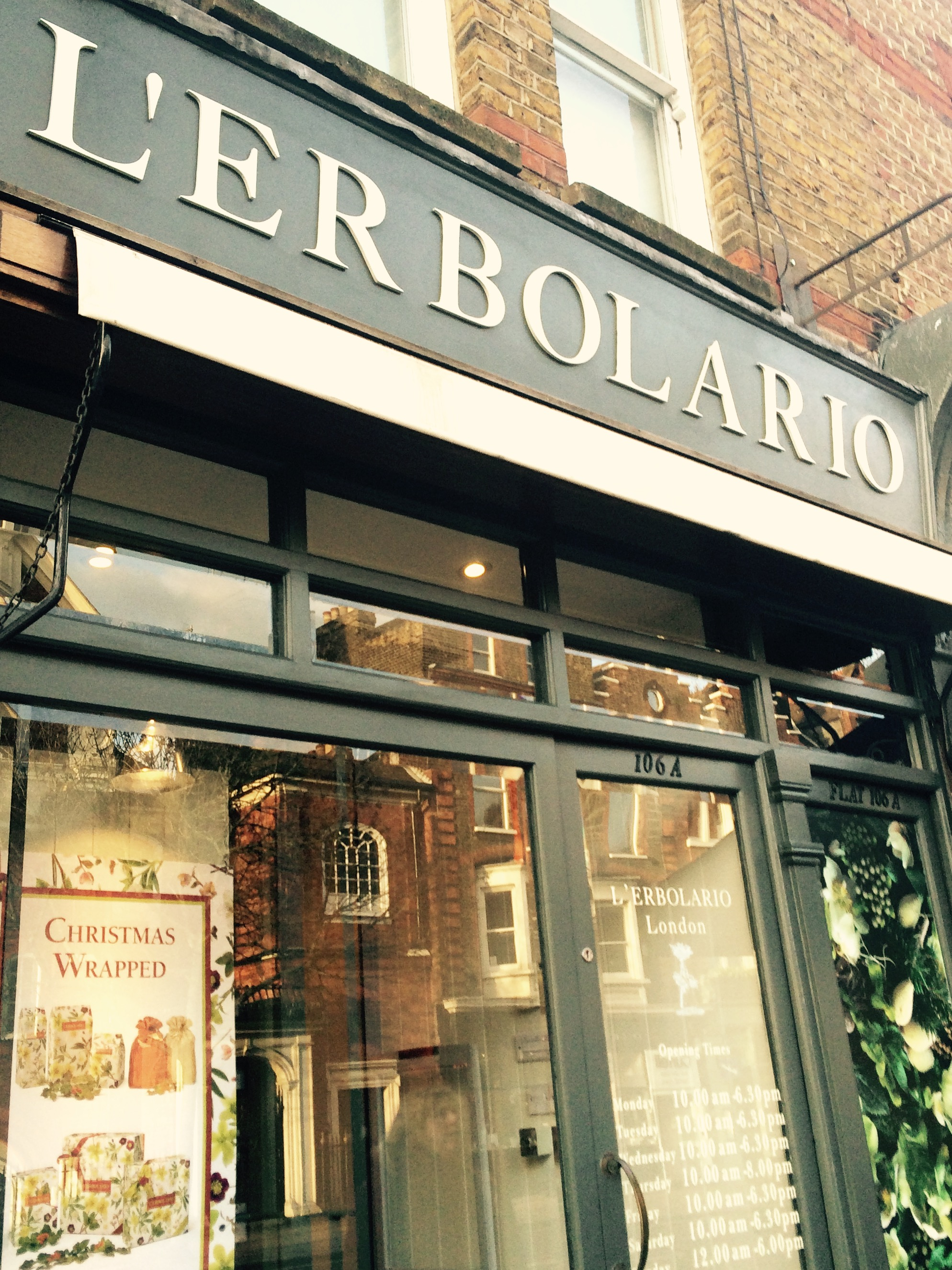 L'Erbolario Launches in UK - Shop front.ju