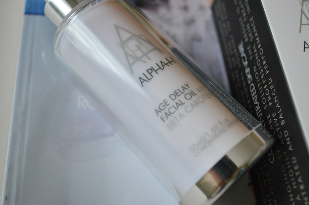 The Ultimate Anti-Ageing Routine - Product: Alphah Age Delay Facial Oil