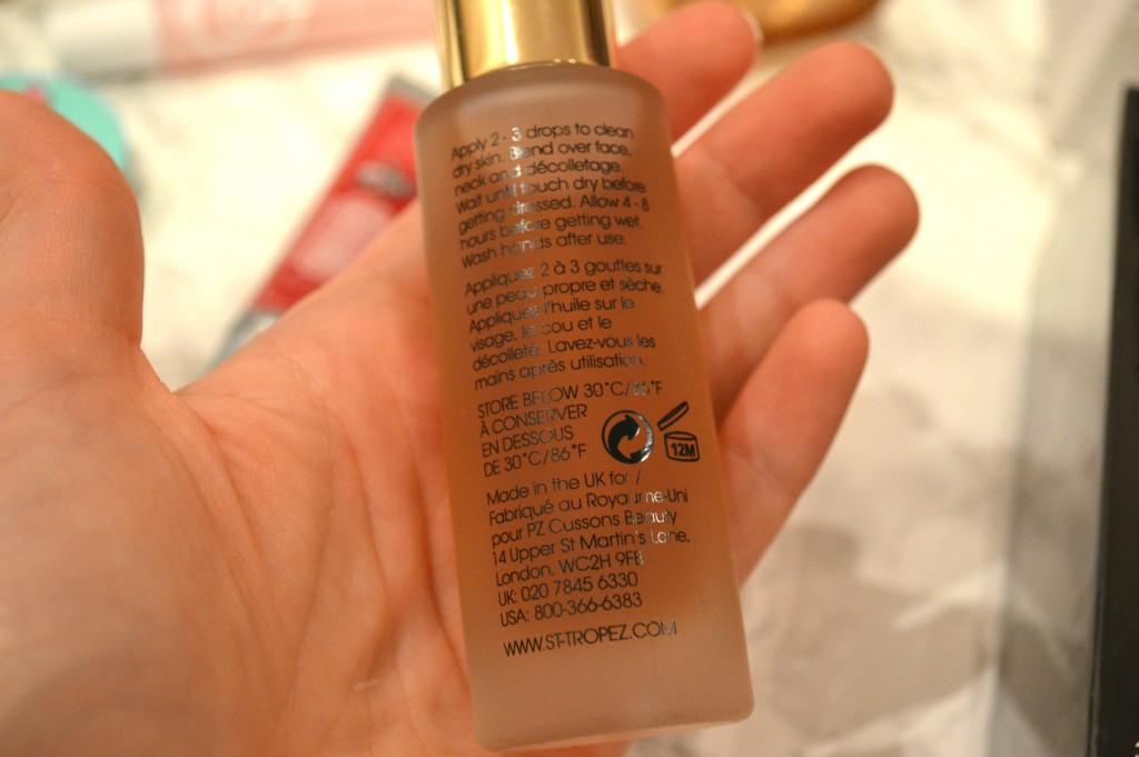 San Tropez Luxe Facial Oil Review