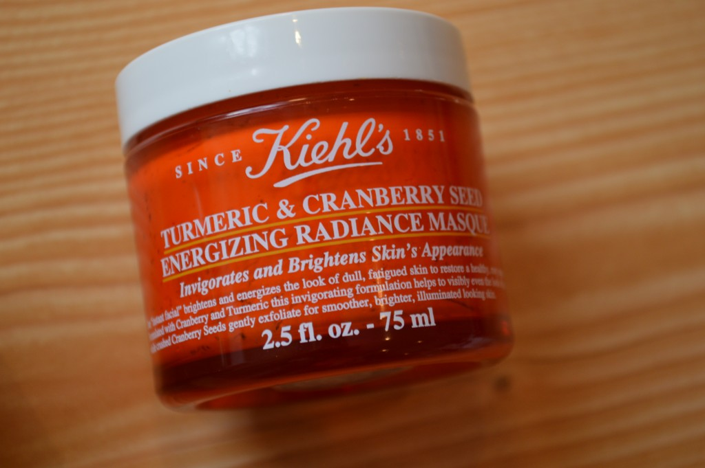 Kiehl's Products - Turmeric & Cranberry Seed