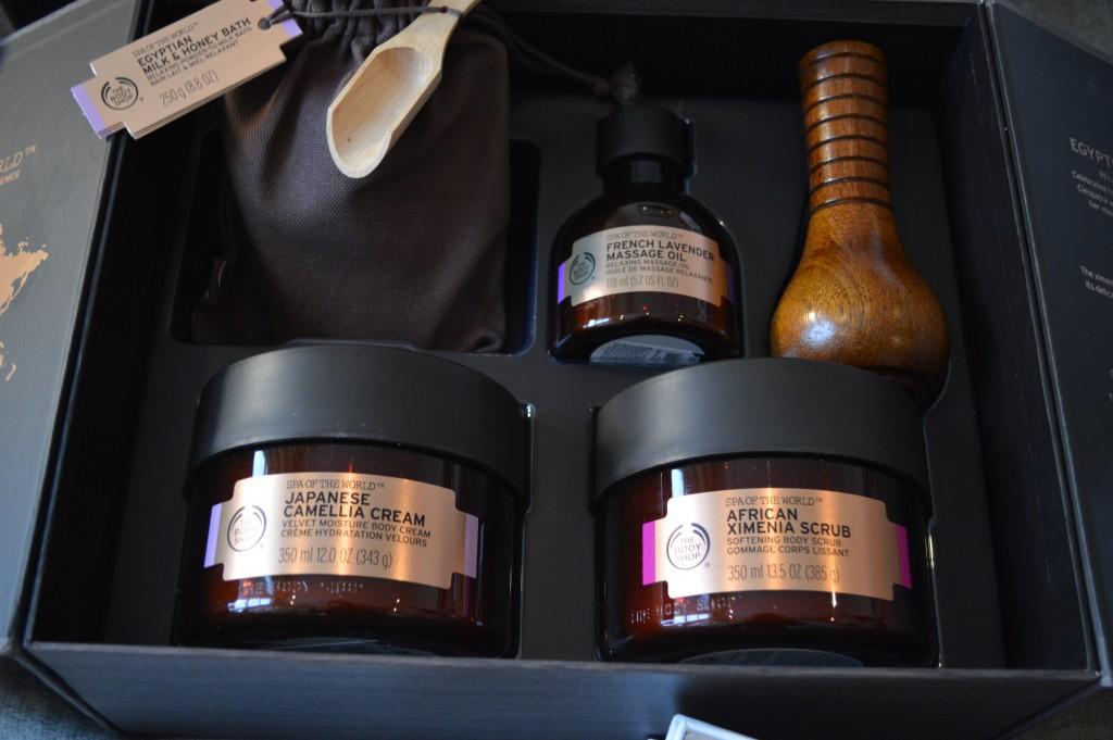 Spa of the world luxurious body collection_Luxury Christmas Gifts for Her_ Self Care Gifts