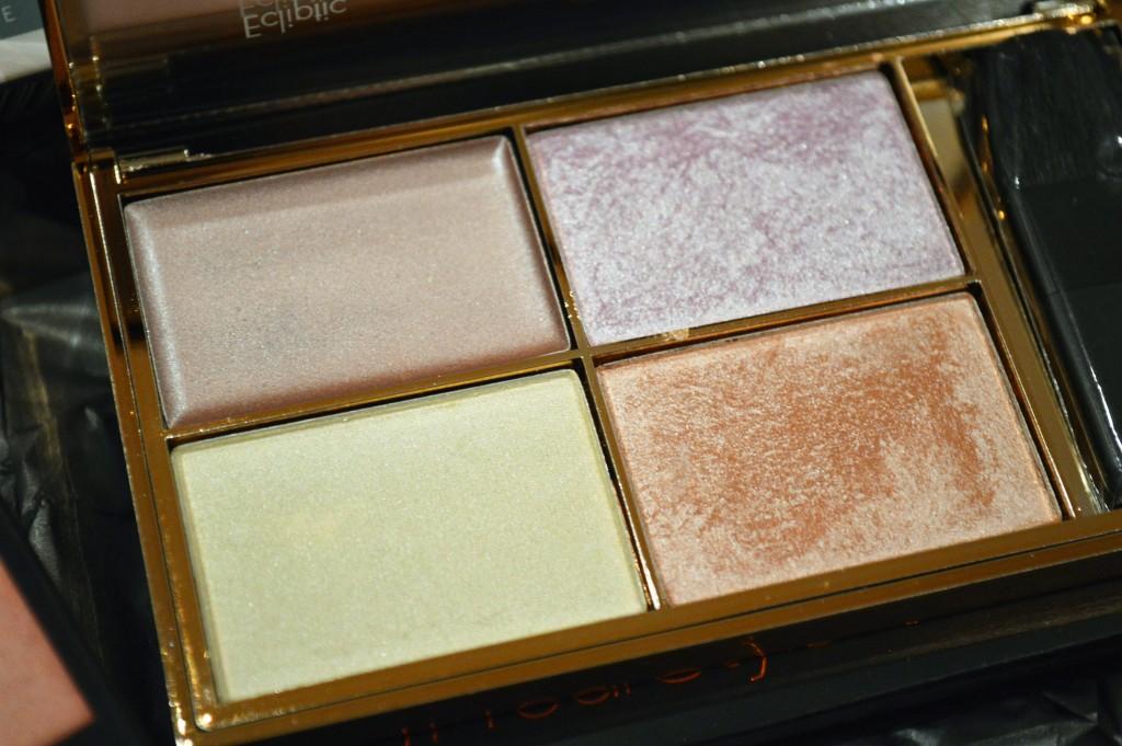 Sleek Precious Metals Highlighting Palette