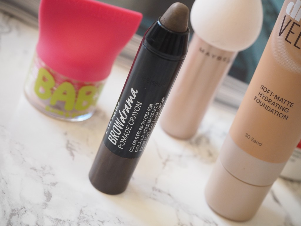 Jamie Rockers_Maybelline New York Reviews_Beauty Rocks_Baby Lips Balm and Blush_Maybelline New Launches_Maybelline Brow Drama, Maybelline Dream Velvet Foundation