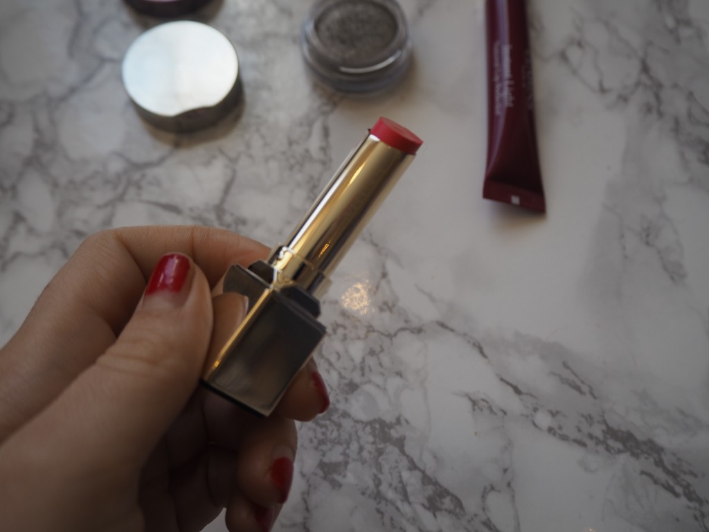 Clarins New Launches 2016_Clarins Instant Light Lip Perfector_Rouge Eclat Age-Defying Lipstick_Limited Edition Natural Glow 5-Colour Eye Shadow Palette_Clarins Ombre Iridescent_Jamie Rockers_Beauty Rocks