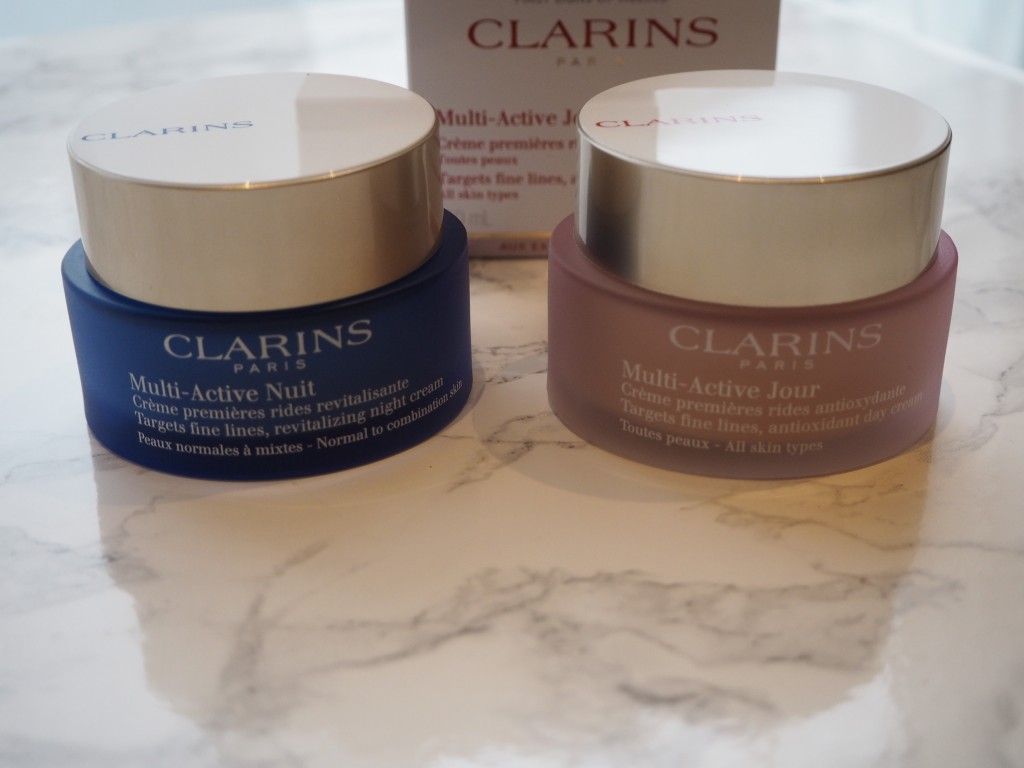 Clarins Multi-Active Day Cream_Clarins Multi-Active Night Cream_Beauty Rocks_Jamie Rockers