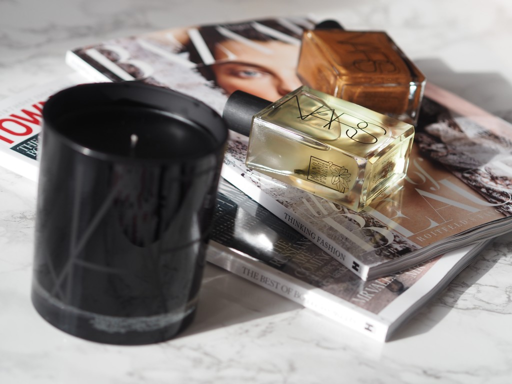NARS Tahiti Bronze Collection_NARS Monoi Body Glow_NARS Monoi Scented Candle_Beauty Rocks