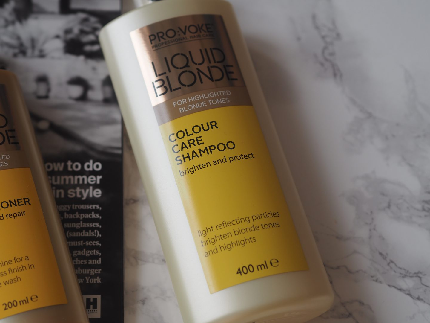 Pro:voke Liquid Blonde - Product: Colour Care Shampoo