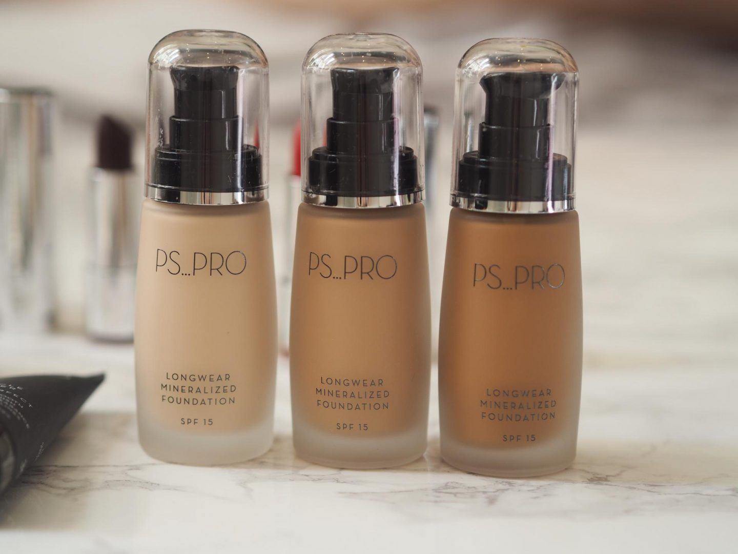 Primark PS Pro - Products: Longwear Mineralized Foundation