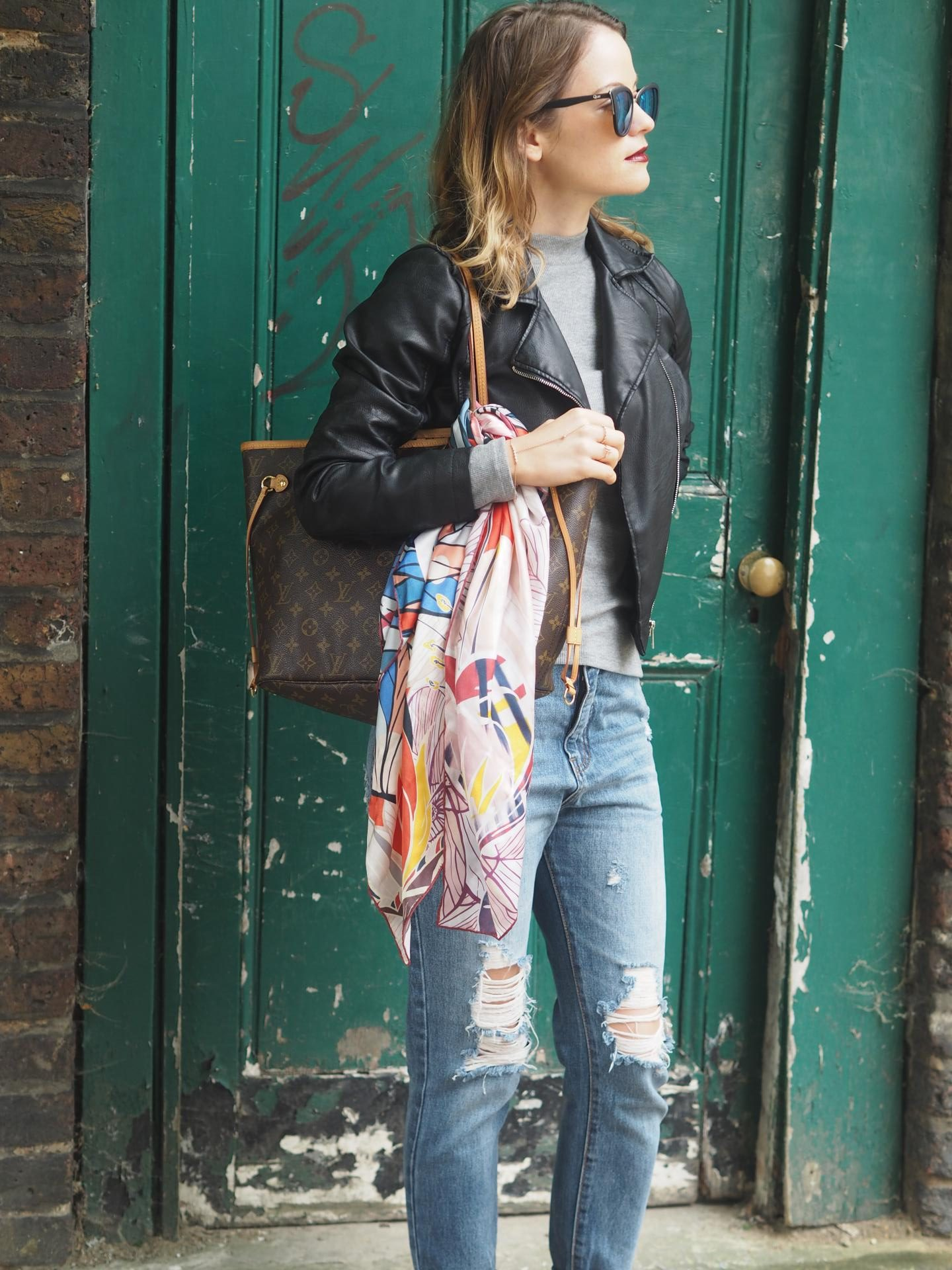 K&K Labs Silk Scarf_Silk Scarf_Fashion Bloggers_Jamie Rockers