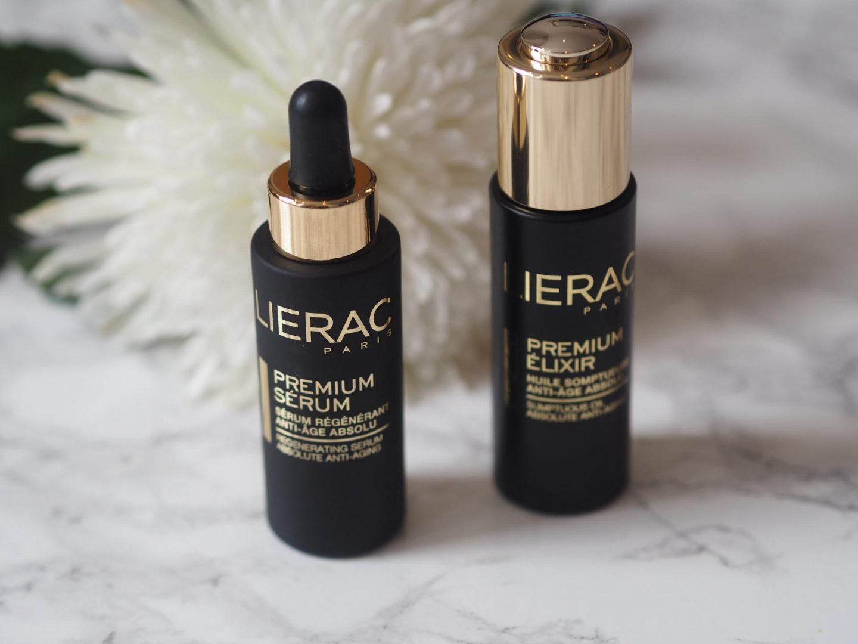 Lierac Premium Serum and Lierac Premium Elixir