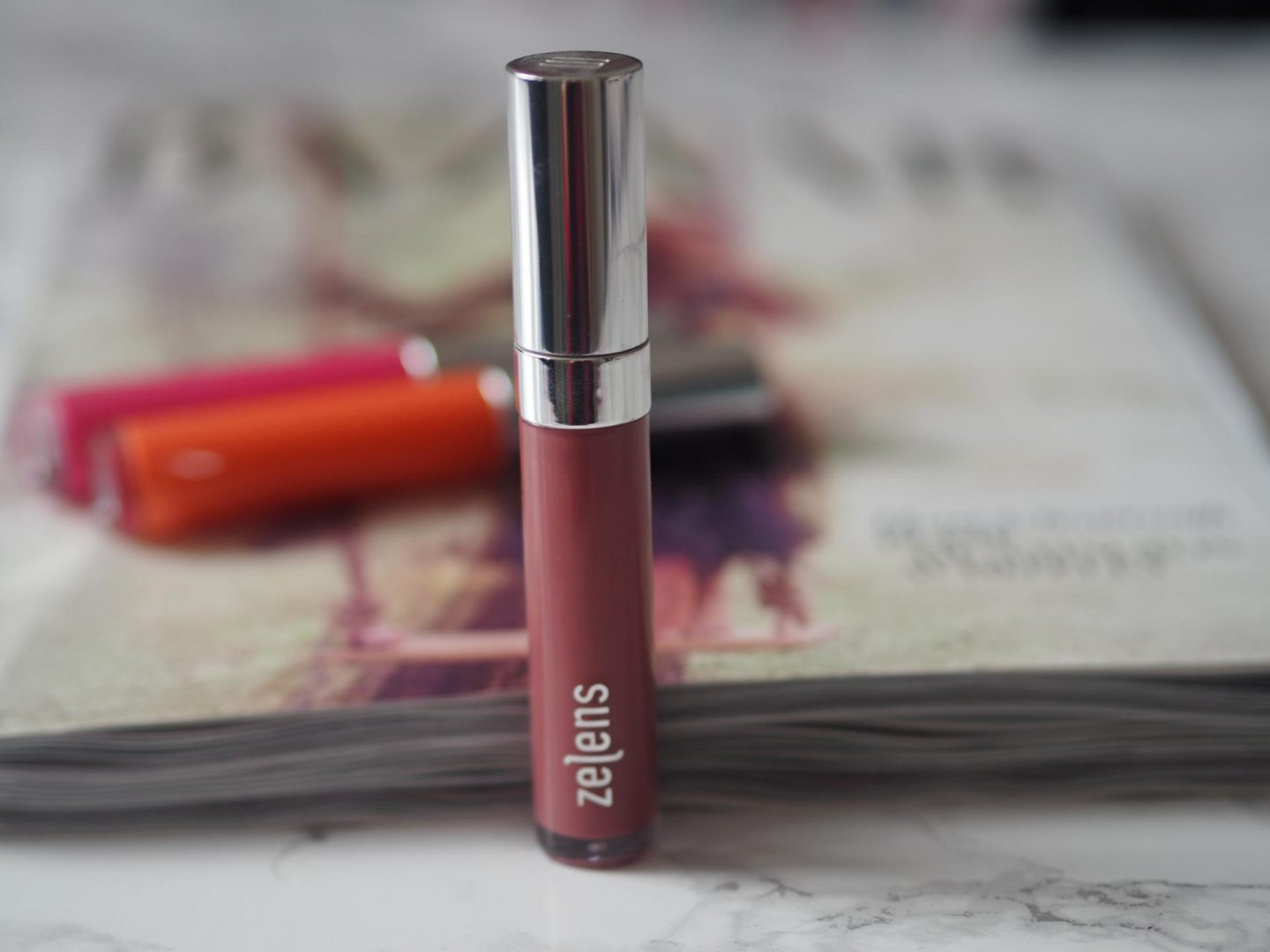 Zelens Lip Glaze in Rose