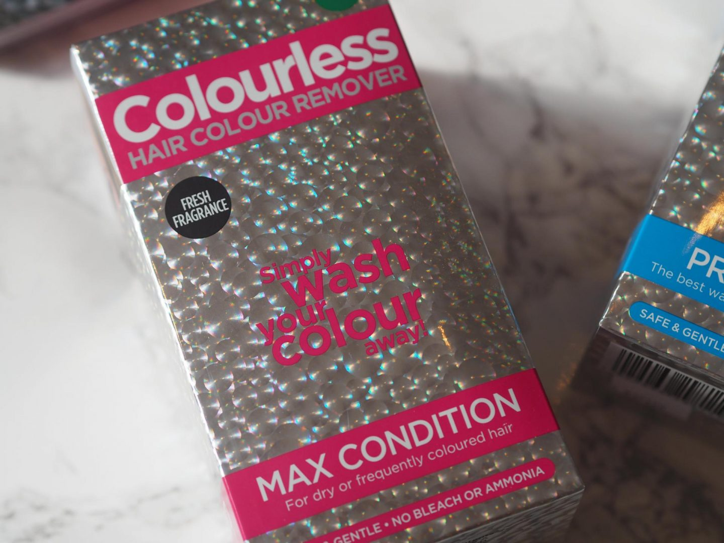 Removing Hair Colour With Colourless Beauty Rocks