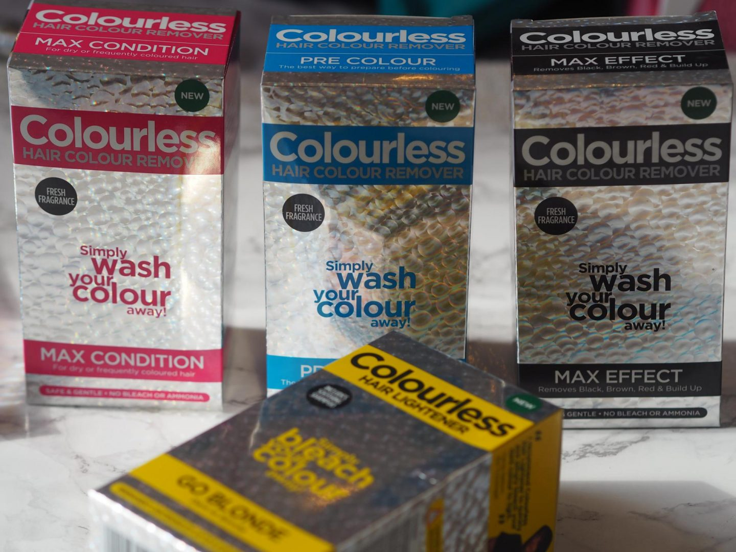 Colourless Hair Colour Remover Products