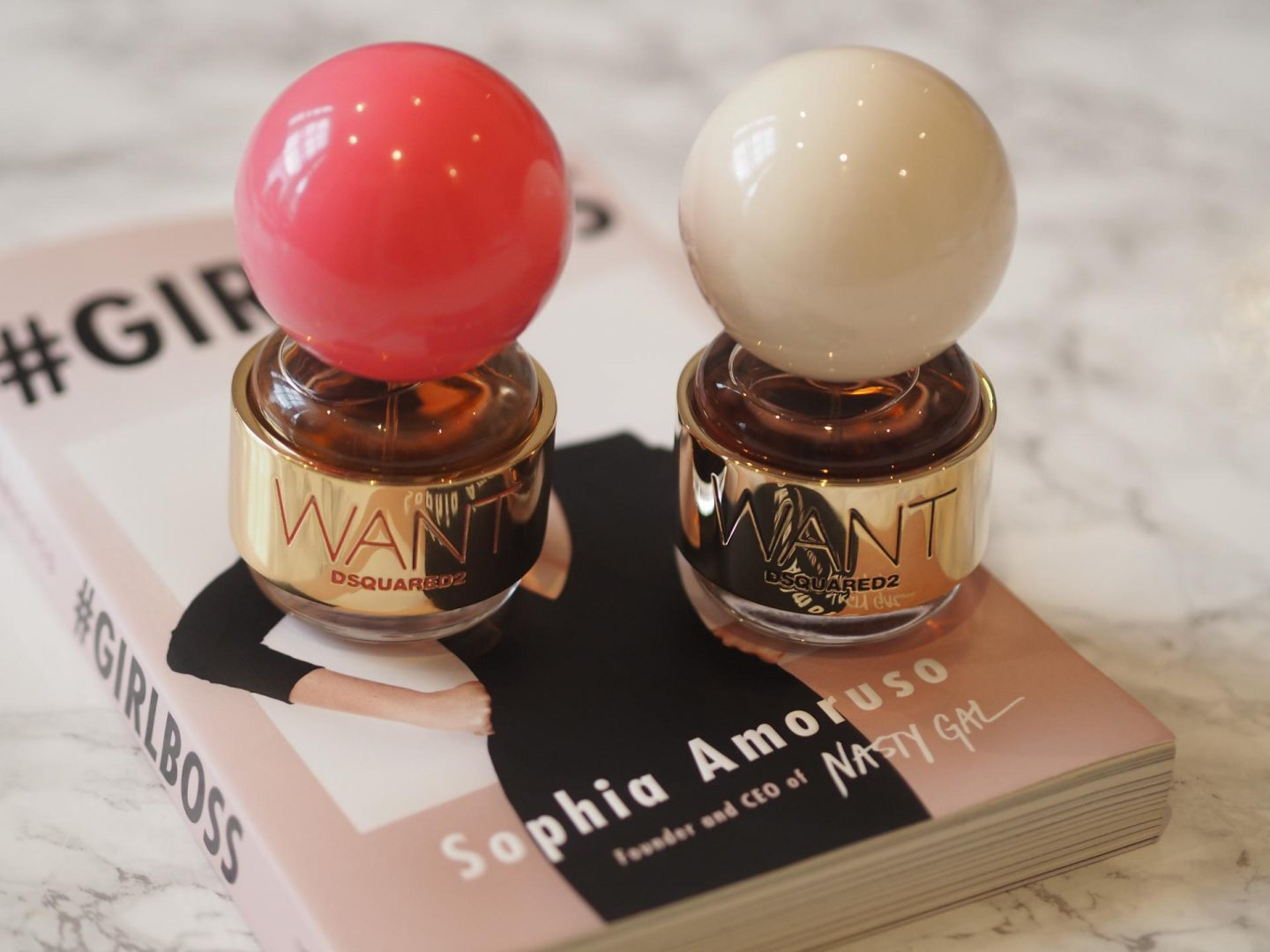 Want DSquared Pink Ginger and Want Dsquared2