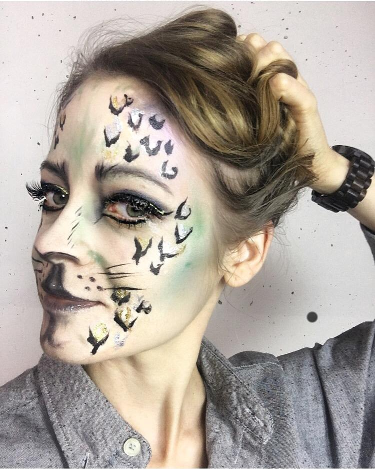 Halloween Makeup: Spooky Wild Cat Tutorial