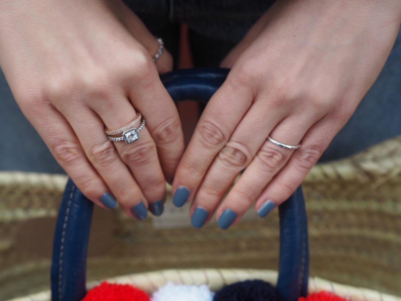 Hearts of Pandora with Pandora stacking rings