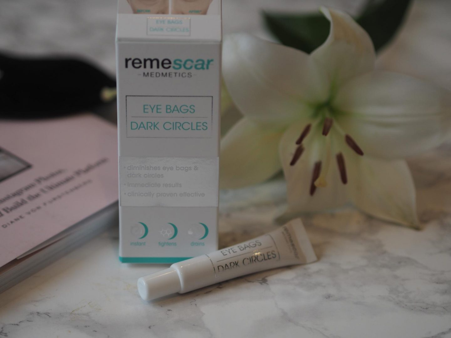Remescar - Product: Eye Bags and Dark Circles Serum