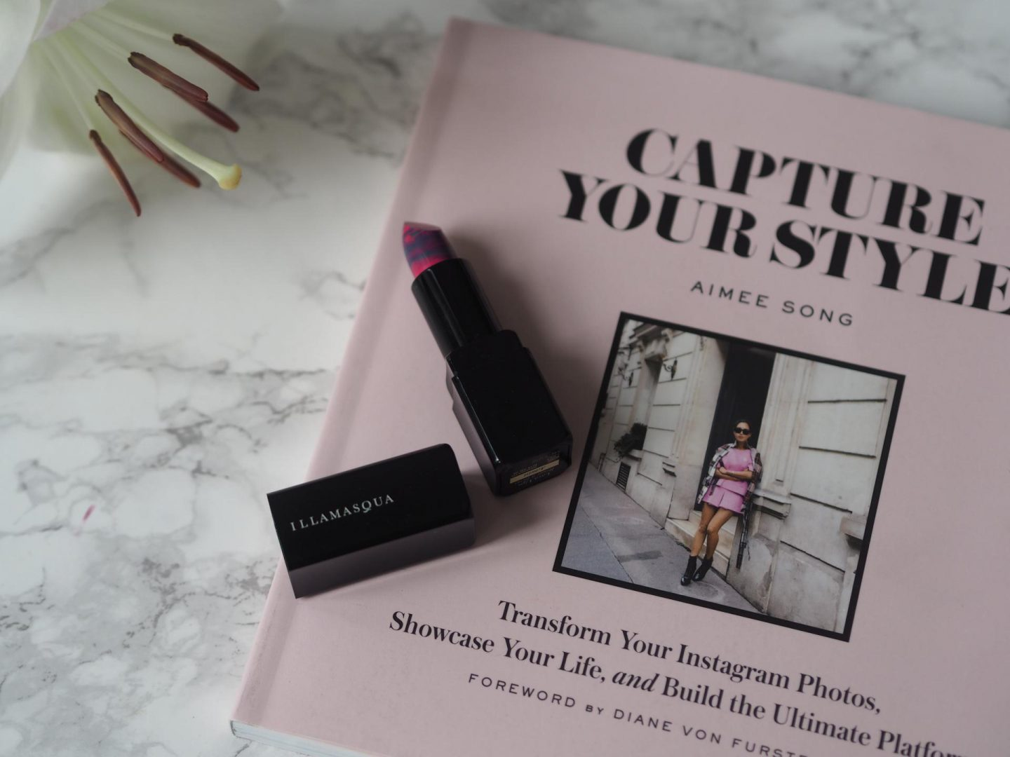 Illamasqua Lava Lips with Capture Your Style Book