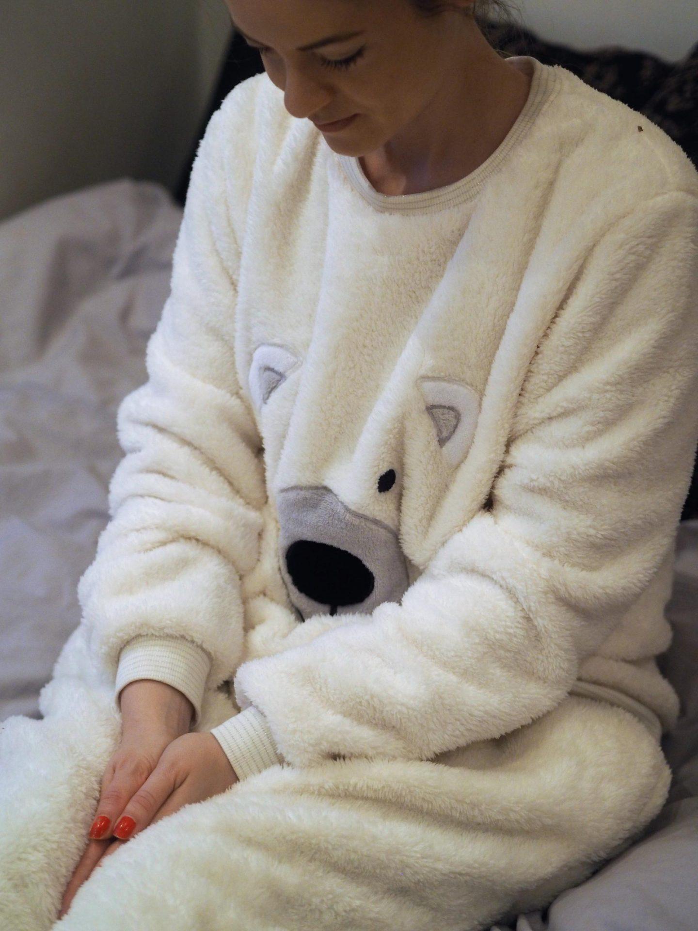 Avon Polar Bear Snuggle PJs for Christmas