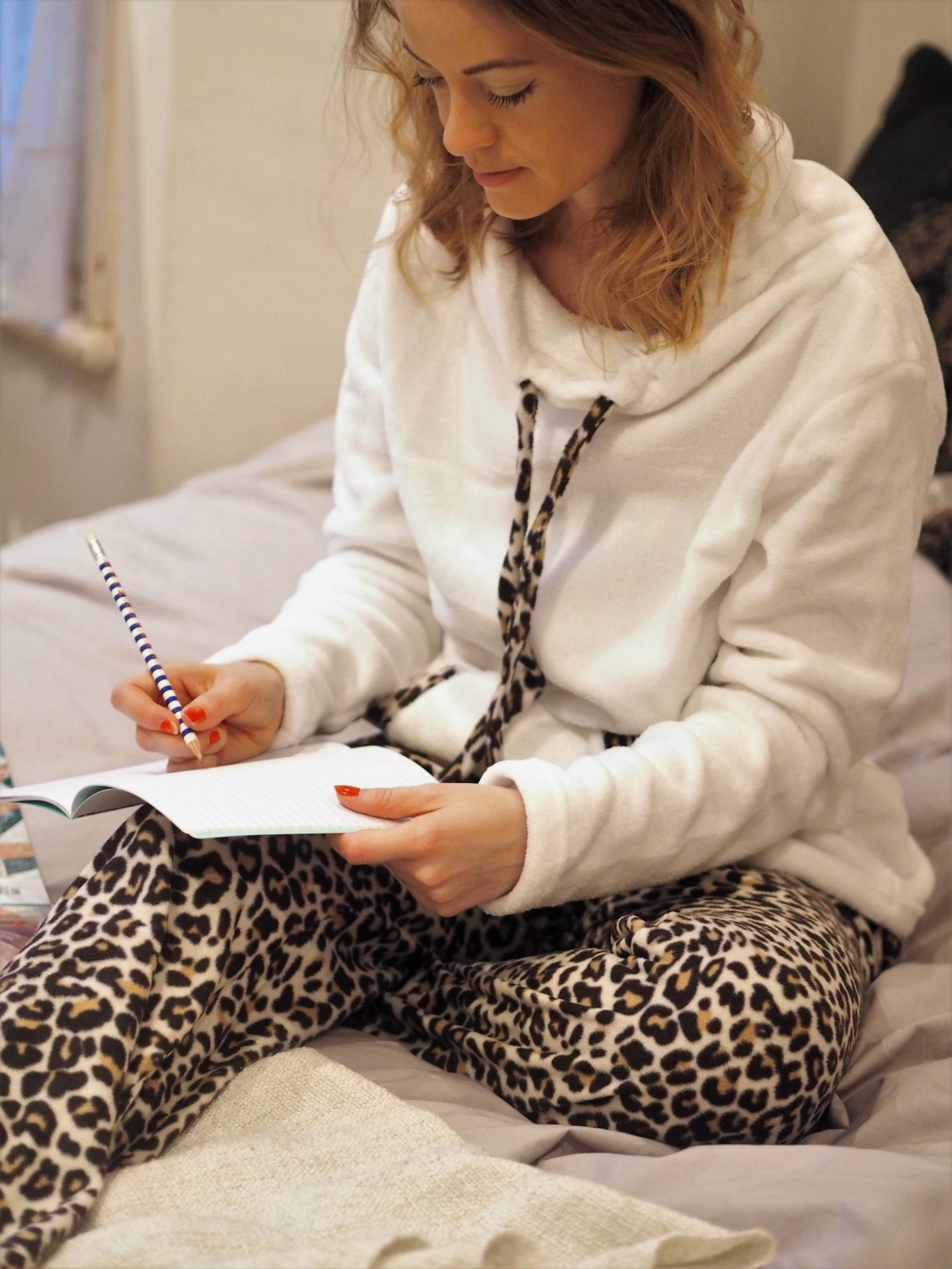 Super Cosy Leopard Print PJs