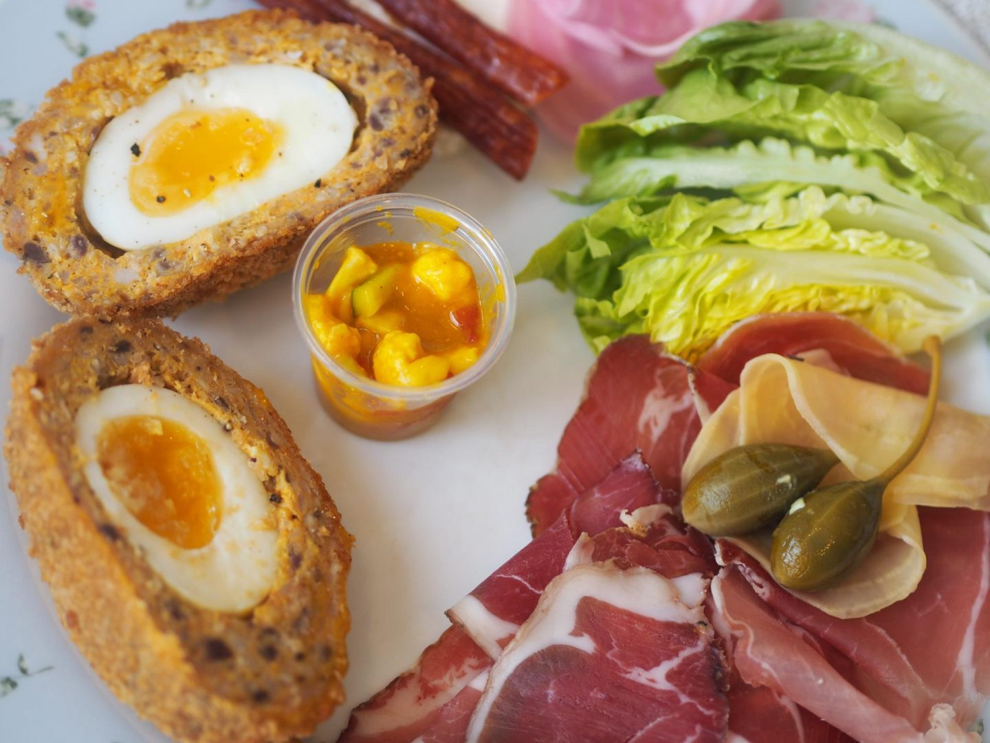 British charcuterie board from award-winning meat suppliers, Cannon & Cannon