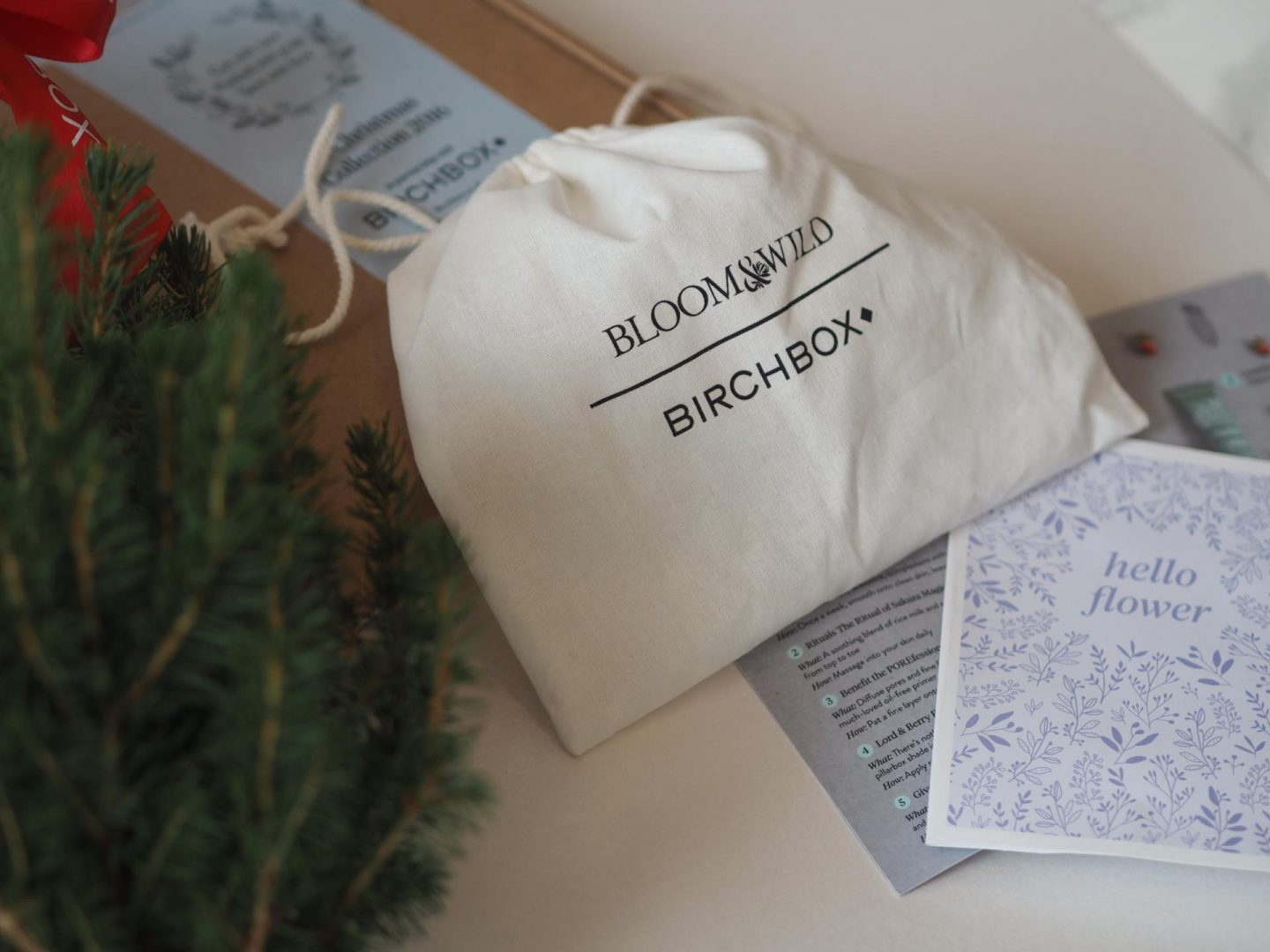 Mini Birch Treat with Bloom & Wild and Birchbox for December Collaboration