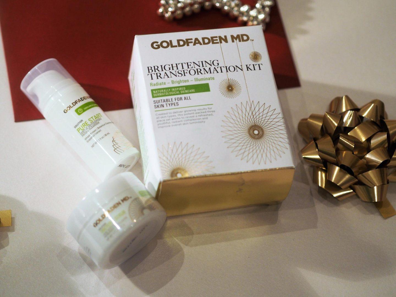 Goldfaden MD Brightening Transformation Kit