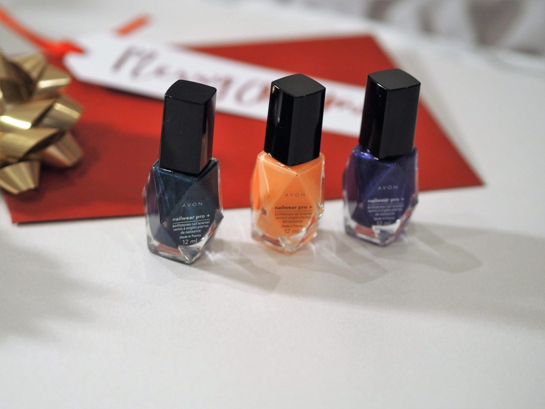 Avon Nailwear Pro Birthstones Nail Enamel – Pearl, Emerald, Sapphire