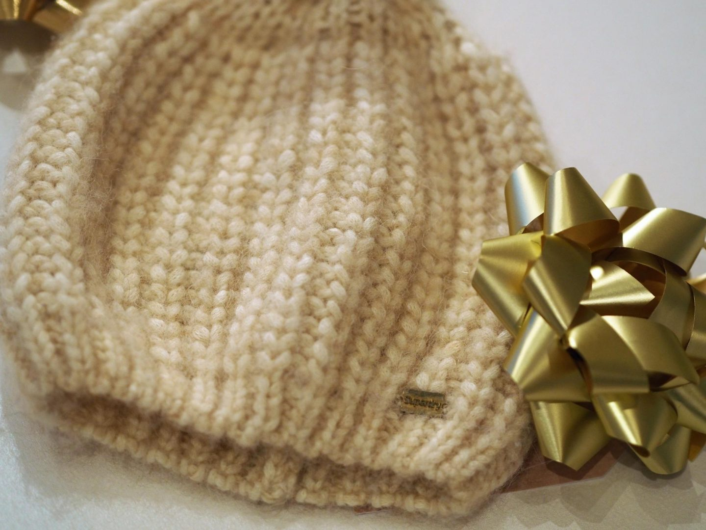 Superdry Super Luxe Mohair Beanie and Christmas Gift Guide for Teen Girls