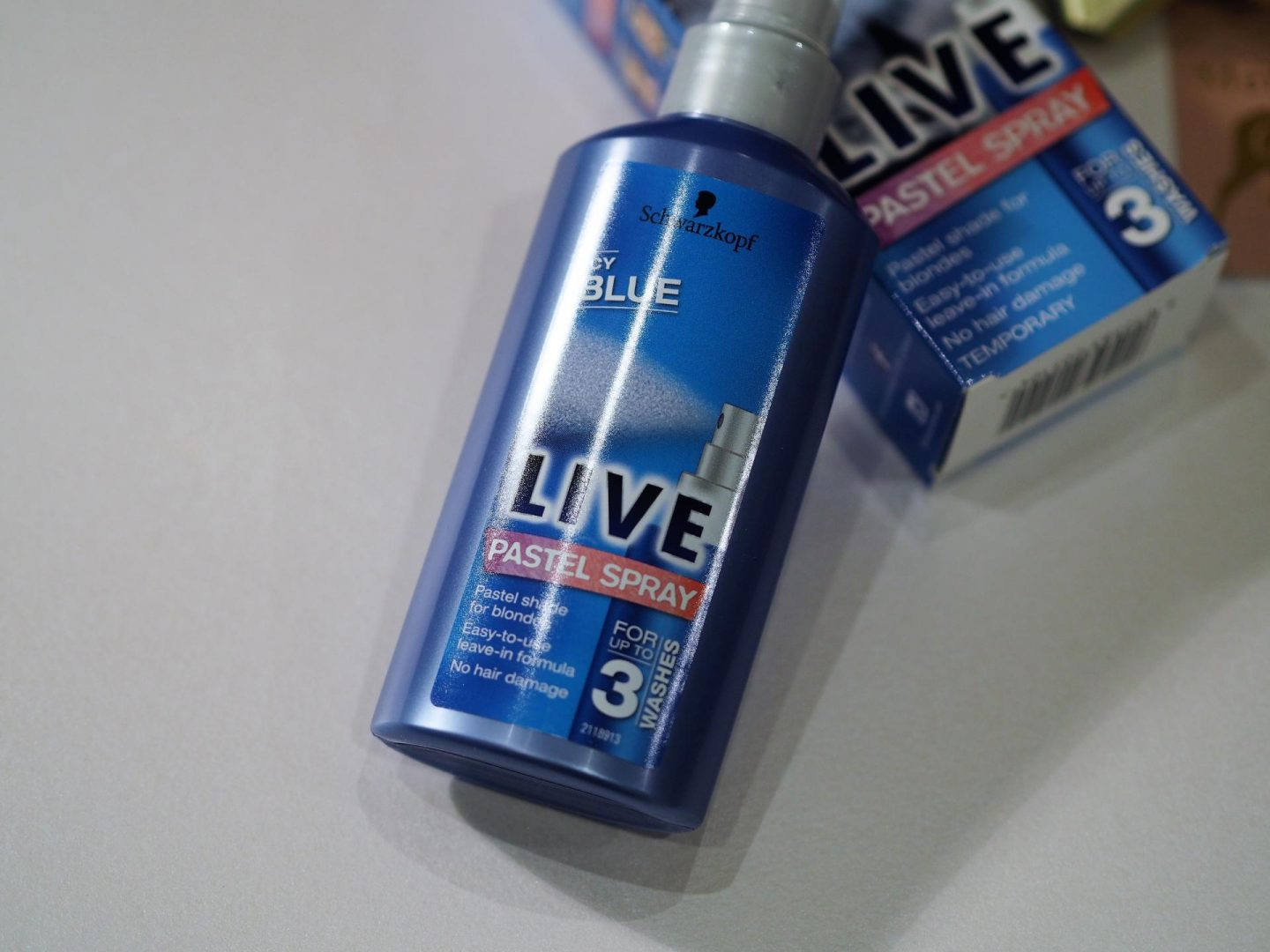 Schwarzkopf Live Pastel Shades – Icy Blue for Blondes