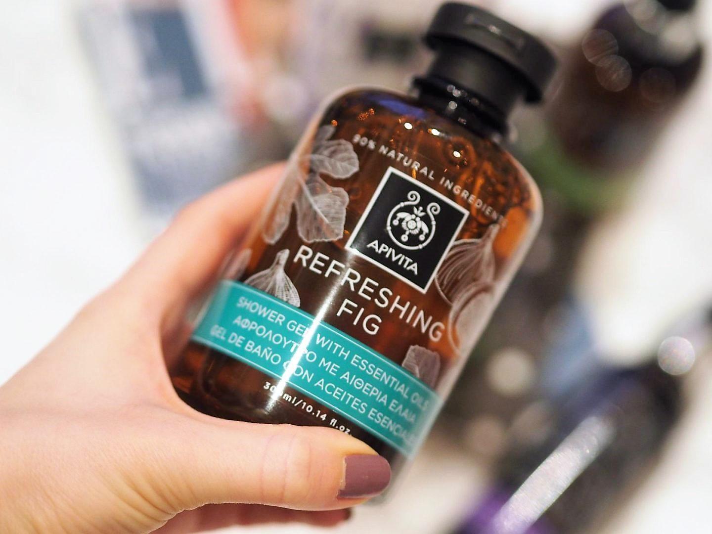 Apivita natural Greek brand with Refreshing Fig
