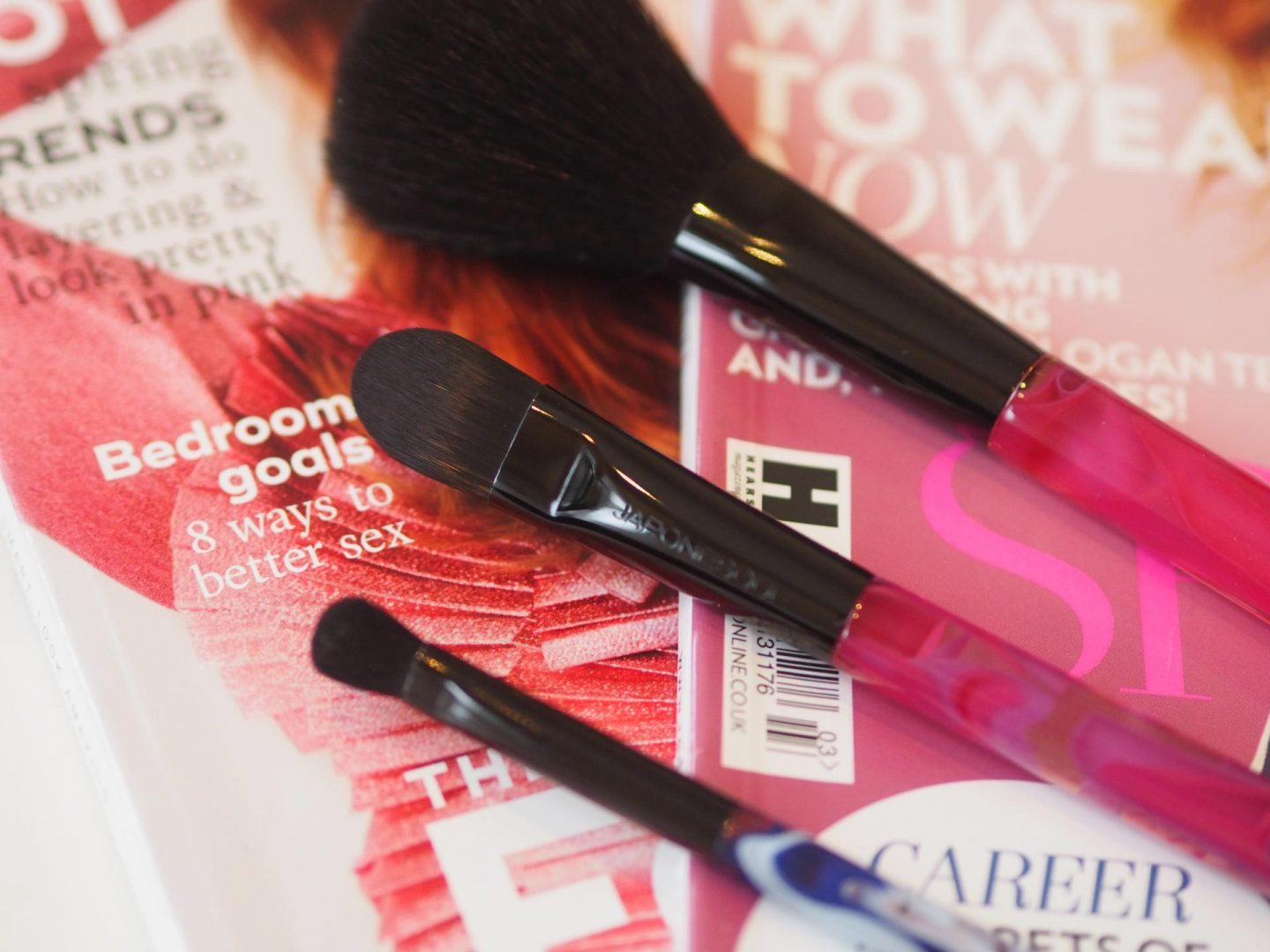 ASOS beauty and make-up haul and Japonesque Color Collection Brushes