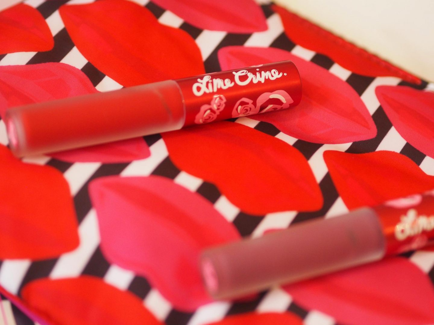ASOS beauty and make-up haul and Lime Crime Velvetines