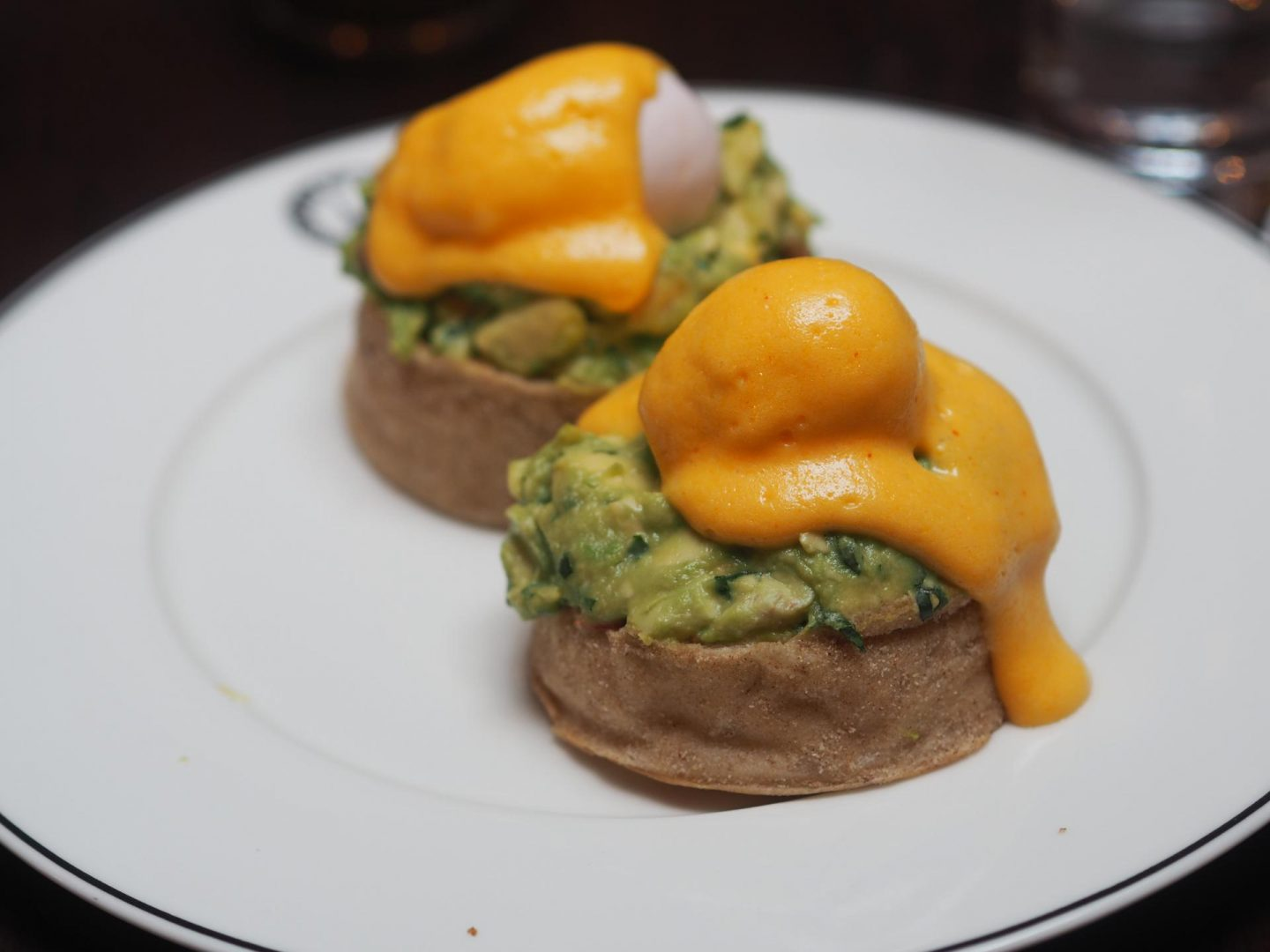 Boisdale of Mayfair Eggs Benedict with Avocado
