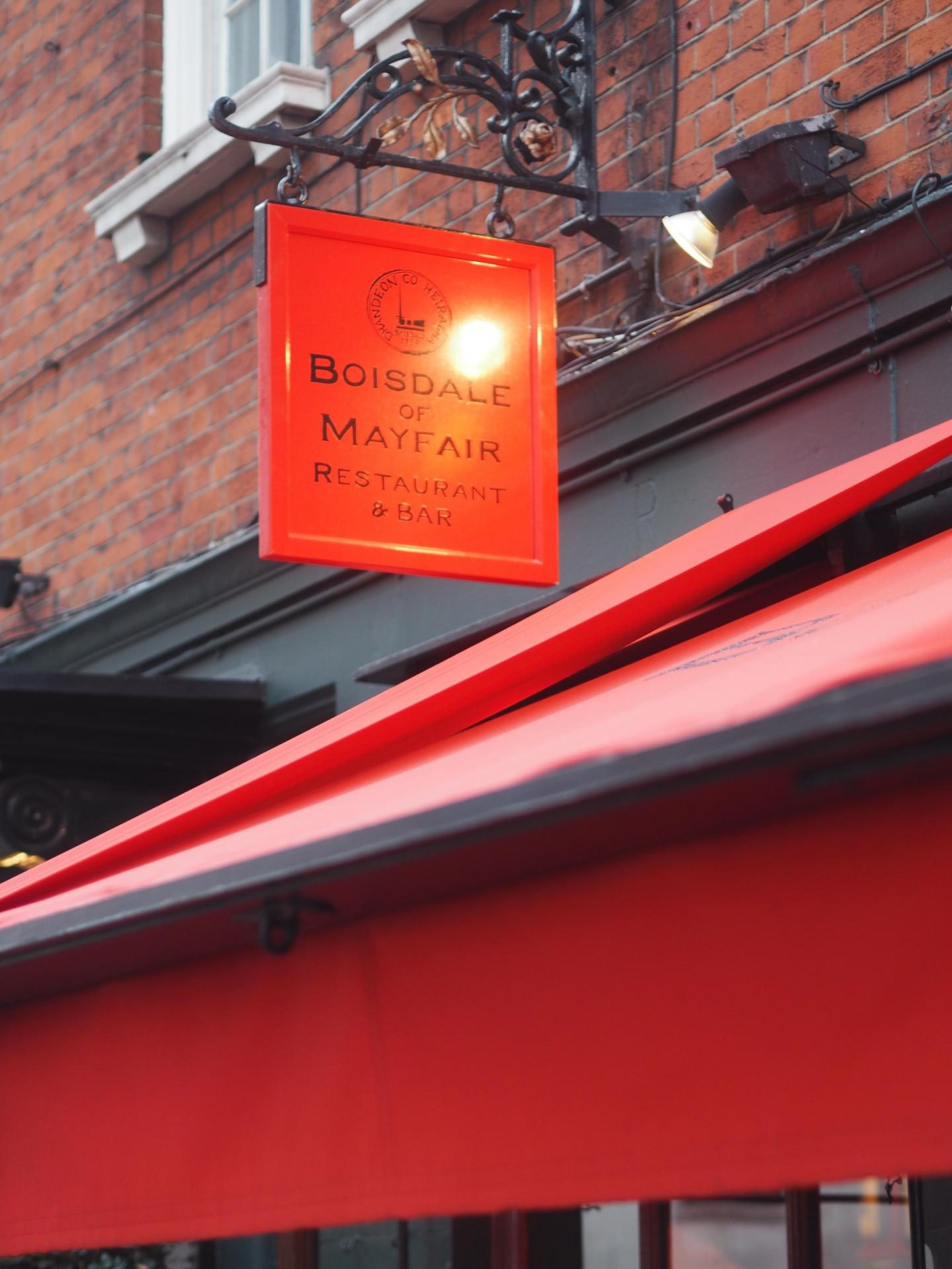 Boisdale of Mayfair and the best brunch in London