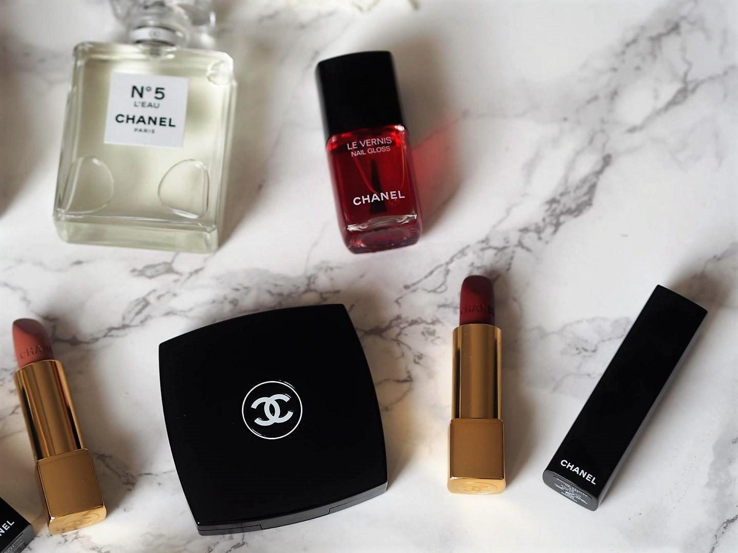 Chanel Le Rouge Collection with Lucia Pica