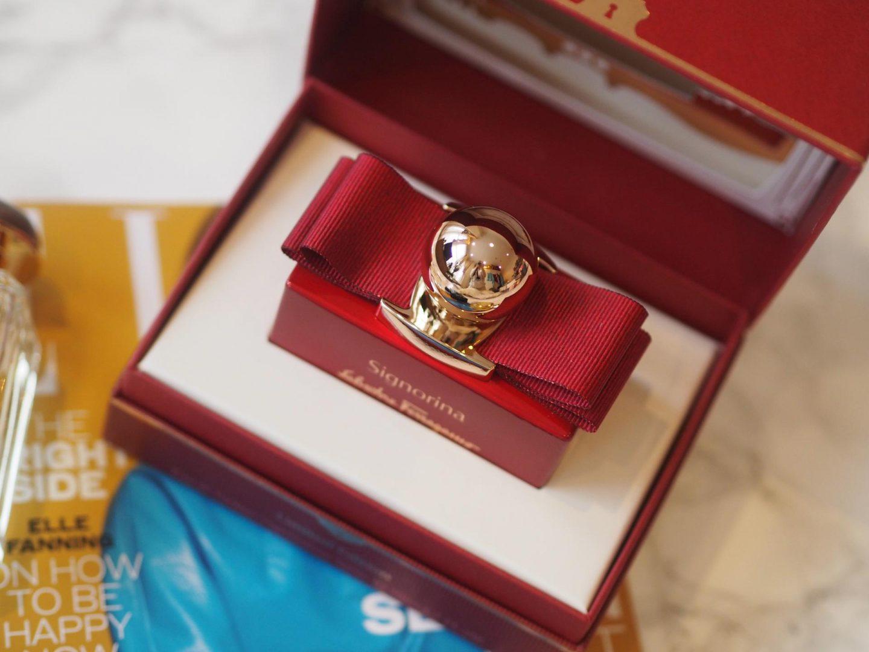 Salvatore Ferragamo Limited Edition Signorina In Rosso