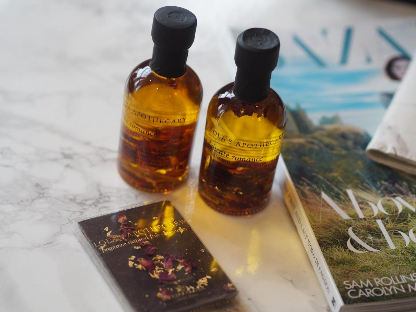 All Around The World Beauty - Product: Lola's Apothecary Delicate Romance Balancing Body & Massage Oil