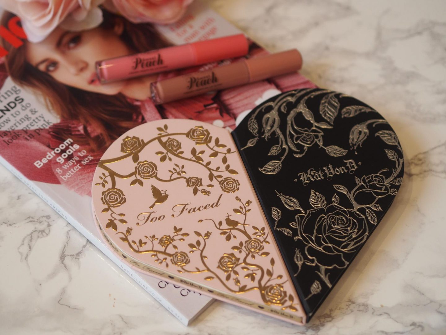 Around The World Beauty - Product: Too Faced x Kat Von D Better Together Eyeshadow Palette