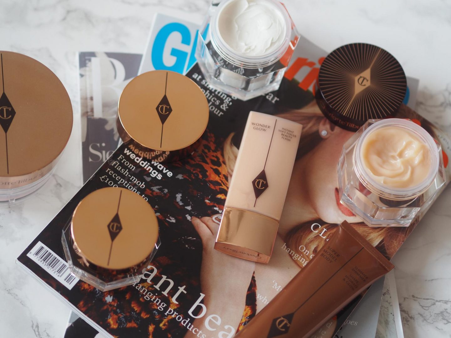 Charlotte Tilbury Make-Up and Skincare Edit and beauty haul