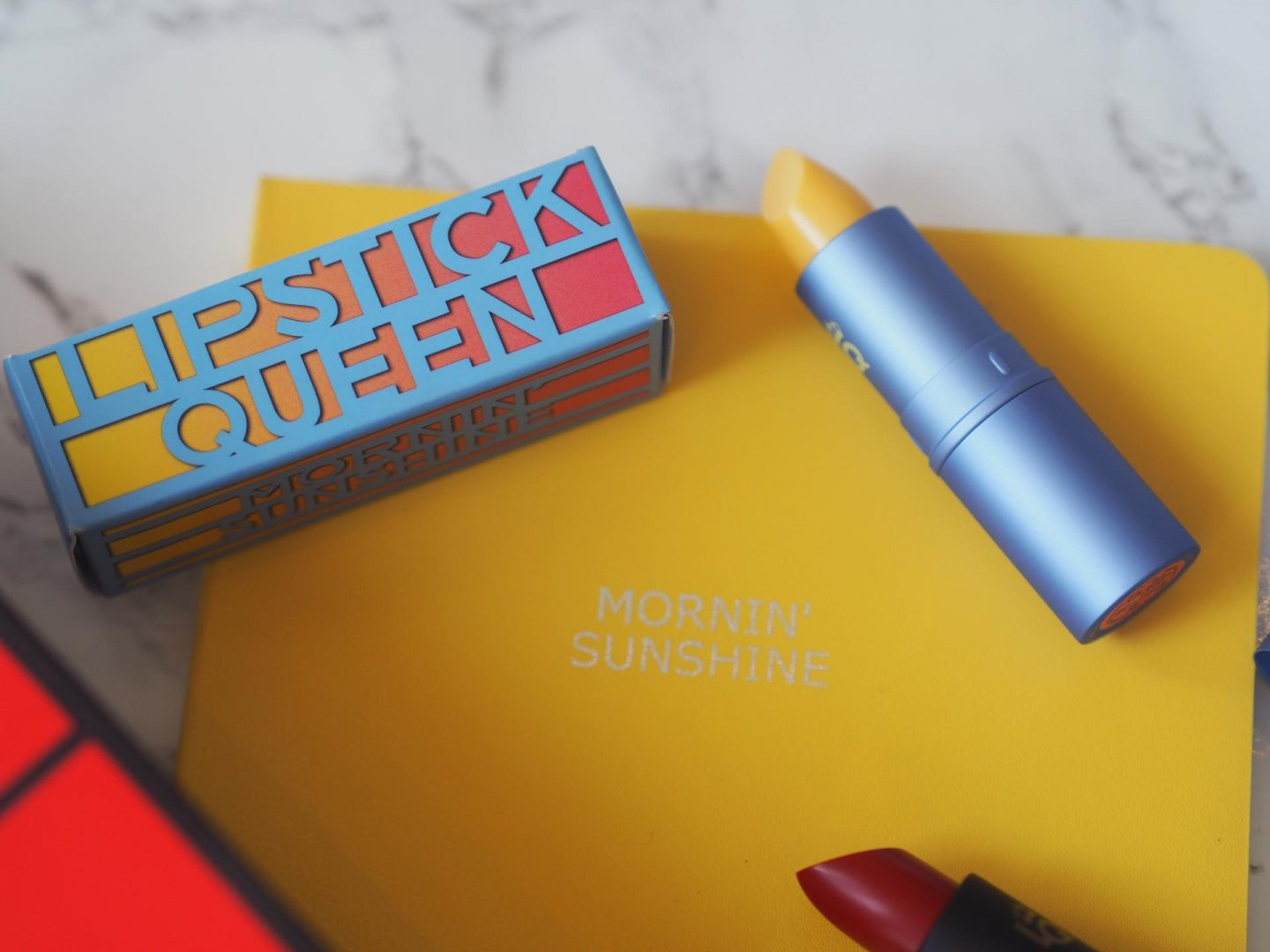 Around The World Beauty - Product: Lipstick Queen (Australia) and Morning Sunshine and Lipstick Queen Sinners Collection