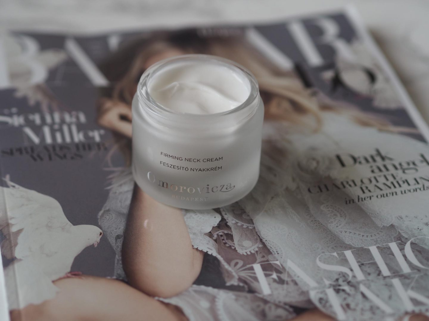 Omorovicza has just launched a Firming Neck Cream