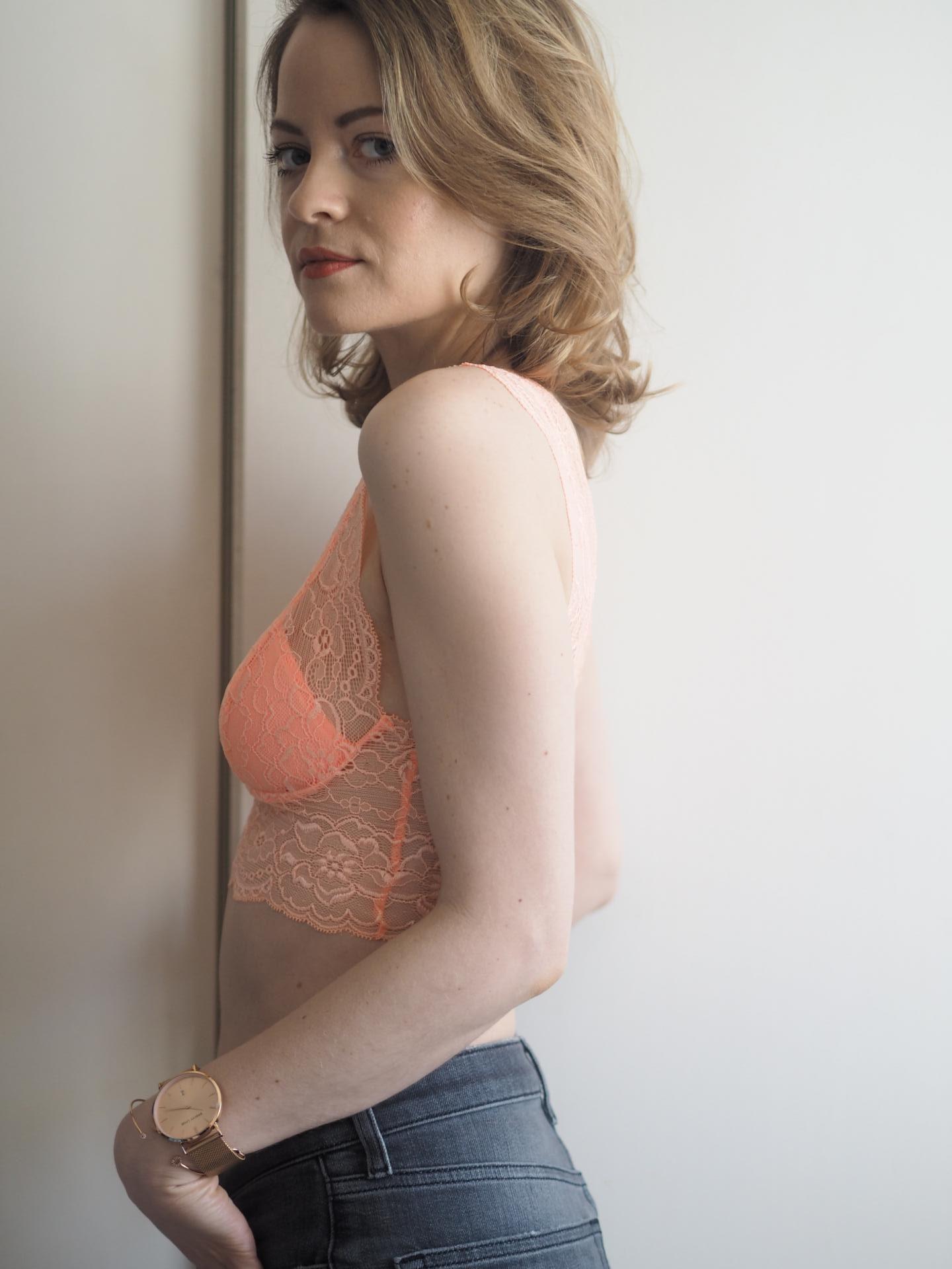Passionata Lulu in Peach Blossom Bralette
