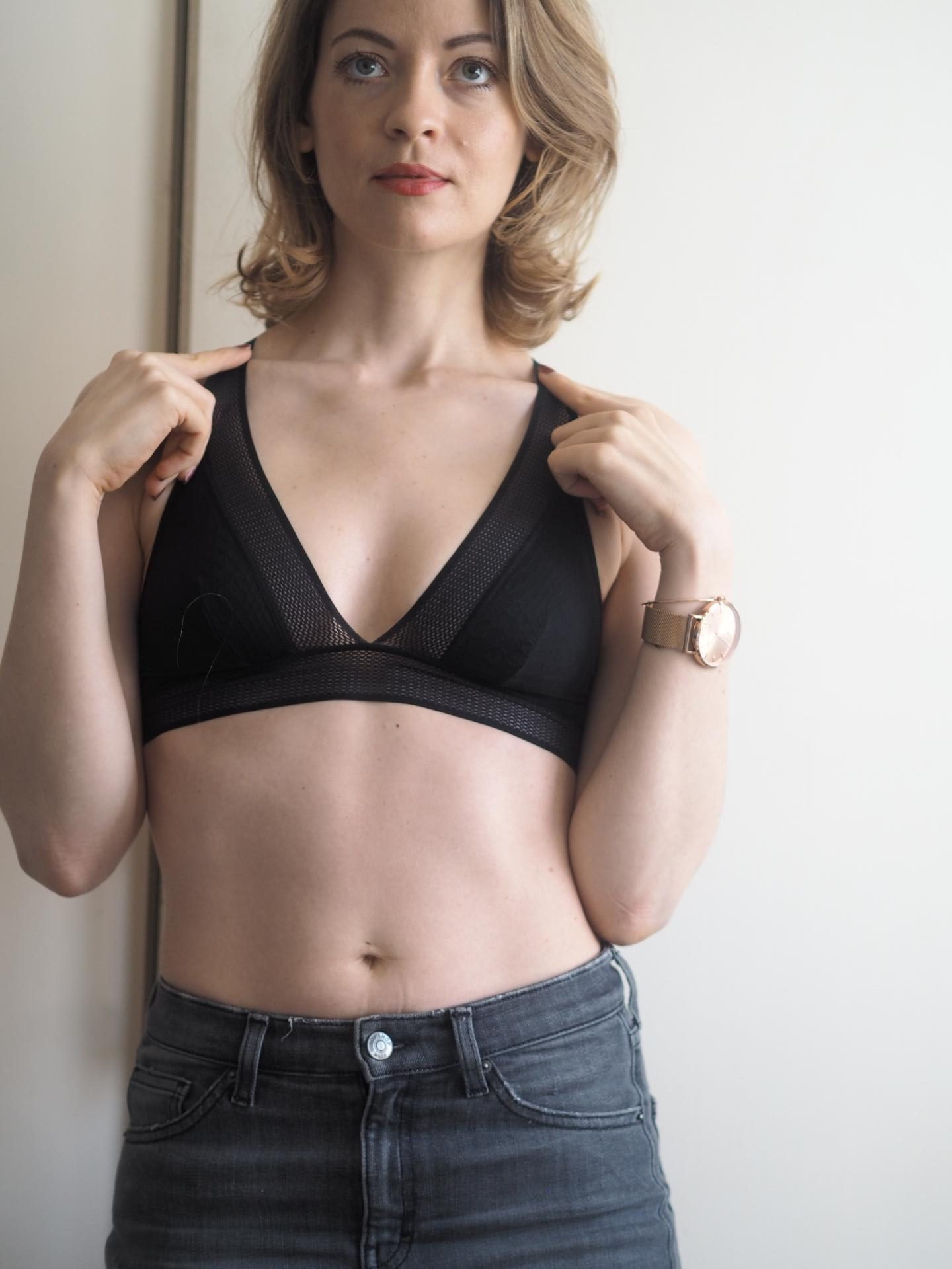 Passionata Dream Passio bralette in Black