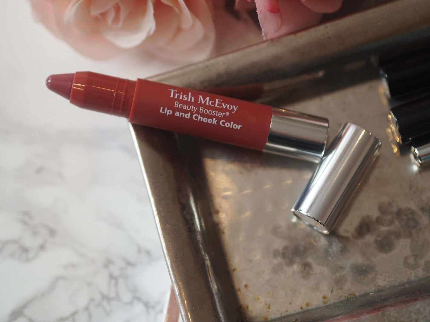Trish McEvoy Beauty Booster Lip and Cheek Color – Perfect Plum