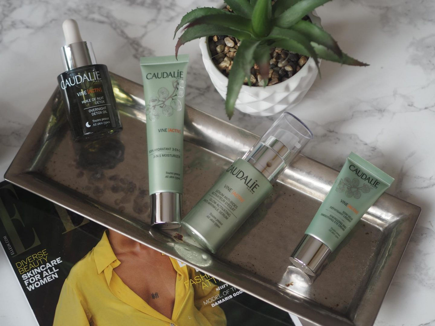 best green beauty products and Caudalie VineActiv range